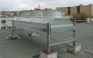 Кондиционирование в типографии Carrier на крыше